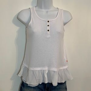 White tank top by Lucky Brand. Size Large